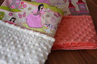 Textil - Letná minky deka - 9488178_