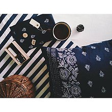 Úžitkový textil - obliečka na vankúš - folklórný dizajn - 9487856_