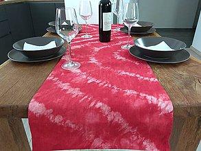 Úžitkový textil - Červená štóla - 9488703_