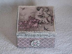 Krabičky - Šperkovnica Anjeli - 9487255_