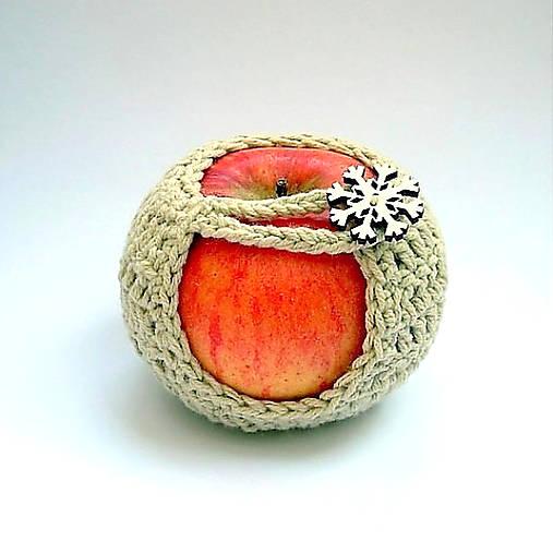 Bio obal na jabĺčko