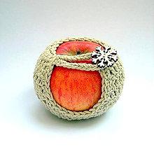 Drobnosti - Bio obal na jabĺčko - 9489795_