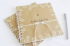 - Svadobná kniha hostí - NATUR 20x20 - 9491040_