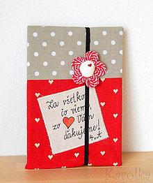 Papiernictvo - Zápisník - Pre pani učiteľku - 9488906_