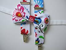 - Pánsky motýlik a traky-slovenské ornamenty - 9489763_