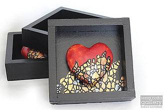 Drobnosti - Srdce zo zlata - 9489497_