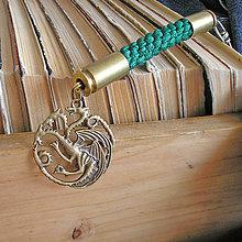 Kľúčenky - prívesok na tašku Daenerys - 9491268_