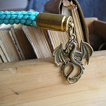 Kľúčenky - prívesok na tašku Drak - 9491350_