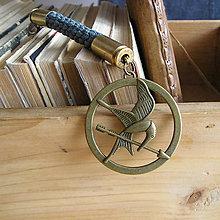 Kľúčenky - prívesok na tašku Hunger Games - 9491428_