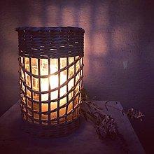 Svietidlá a sviečky - Romantická svetelnička - 9491309_