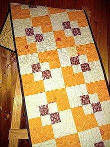 Úžitkový textil - Štóla na stôl - 9490387_