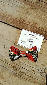 Ozdoby do vlasov - Motýlik/Mašľa Coumba - 9488865_