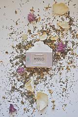 Drogéria - Mydlo soľné - pelargónia - 9491427_
