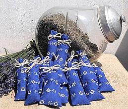 Darčeky pre svadobčanov - FILKI vrecúško s levanduľou  (veľkosť 10x4 cm) - 9488916_