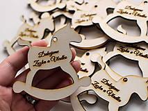 Darčeky pre svadobčanov - Výrezy pre svadobčanov - 9494656_