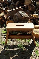 Nábytok - Dubový šamel - Poctivý, orech, kartáčovaný (OLEJOVANÝ) - 9492928_