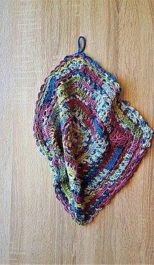 Úžitkový textil - Uteráčik - liečivá mandalka - 9492424_