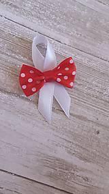 Pierka - pierko červené bodkované - 9494292_
