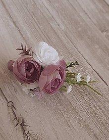 Pierka - pierko  pre ženícha staroružové - 9493145_