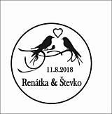 Drobnosti - Svadobná pečiatka 12 - 9492559_