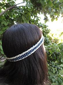 Ozdoby do vlasov - Jedinečne FAREBNÉ ČELENKY, rôzne farby - 100% merino - 9494135_