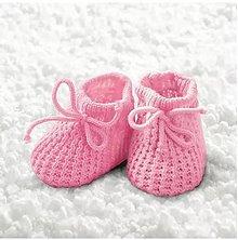 Papier - ružové papučky - 9492569_