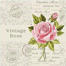 Papier - ruža - 9492935_