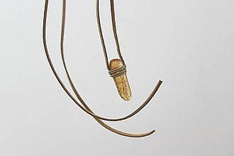 Náhrdelníky - Jantár - náhrdelník - 9495044_
