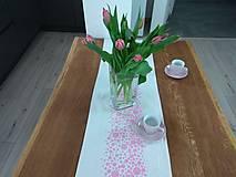 Úžitkový textil - Ružová štóla - 9493958_