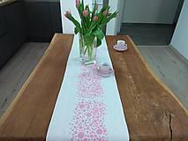 Úžitkový textil - Ružová štóla - 9493960_