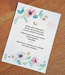 Papiernictvo - pozvanie na oslavu narodenín - 9493682_