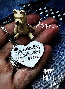 Kľúčenky - MAMI&BABI - 9495227_