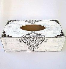 Krabičky - Krabica na papierové vreckovky-