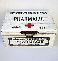 Krabičky - Lekárnička-Pharmacie - 9498661_