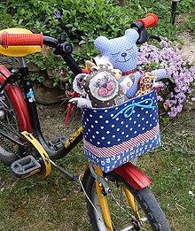 Detské tašky - Košík / taška na bicykel - BikeBag Múdra abeceda - 9496951_