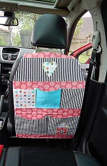 Textil - Organizér do auta - Karolka - 9496990_