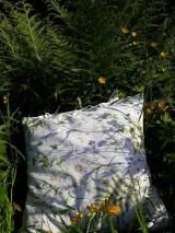 Úžitkový textil - Lúčne kvietky... - 9496062_