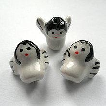 Korálky - Anjelik porcelán 15mm-1ks - 9498731_
