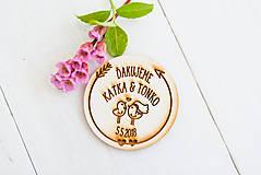 Darčeky pre svadobčanov - Spomienkový  DARČEK pre svadobčanov - 9498334_