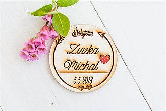 Darčeky pre svadobčanov - Spomienkový  DARČEK pre svadobčanov - 9498389_