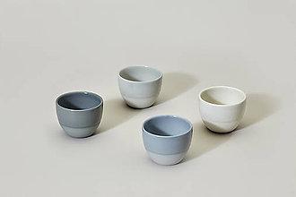 Nádoby - Něžný set espresso šálků (Modrozelená) - 9498336_