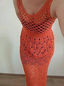 Šaty - Háčkované šaty - 9495736_