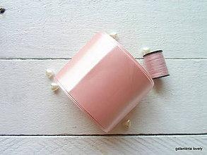Galantéria - stuha saténová veľa farieb na výber 5cm - 9495940_