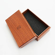 Krabičky - Mahagonová krabička - stredná - 9498209_
