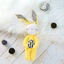 Hračky - Zajačik žlto-čierny - 9495998_