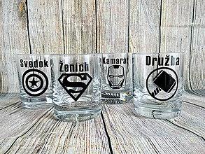 Nádoby - Whisky pohár pre super muža - 9497101_