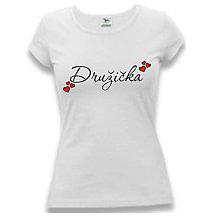 Tričká - Družička - dámske tričko pre družičku - 9495202_