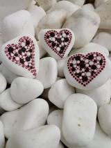 Srdiečka - Na kameni maľované