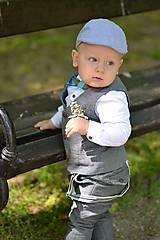 Detské doplnky - Dreveno-živicový motýlik Chenya na mieru - 9496441_