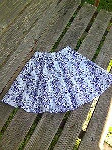 Detské oblečenie - folk modrá - 9496306_